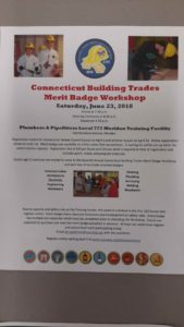 Connecticut Building Trades Merit Badge Workshop – See flyer in the description @ Meriden | Connecticut | United States
